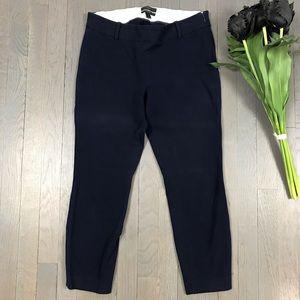 J.Crew Minnie Navy Blue Cropped Fit Skinny Pants